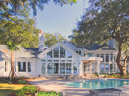 Hough Rear - James Ogden, Hilton Head Architect